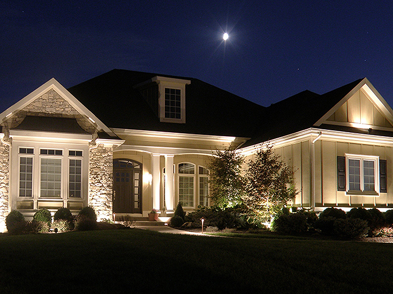 Landscape lighting in Jacksonville fl